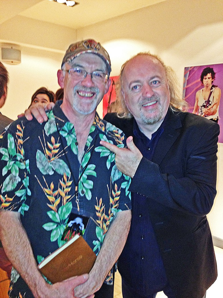 Phil Underwood With Bill Bailey